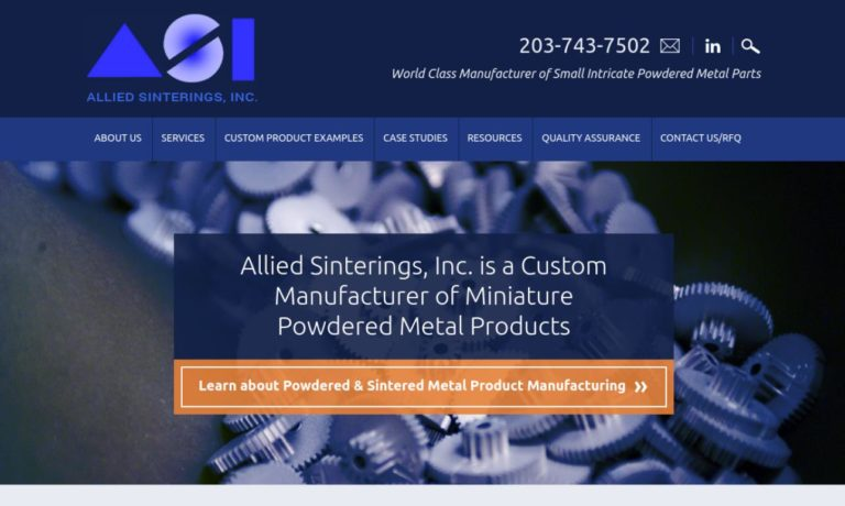 Allied Sinterings, Inc.