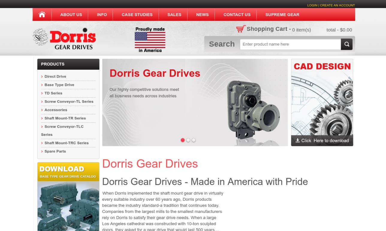 Dorris Gear Drives